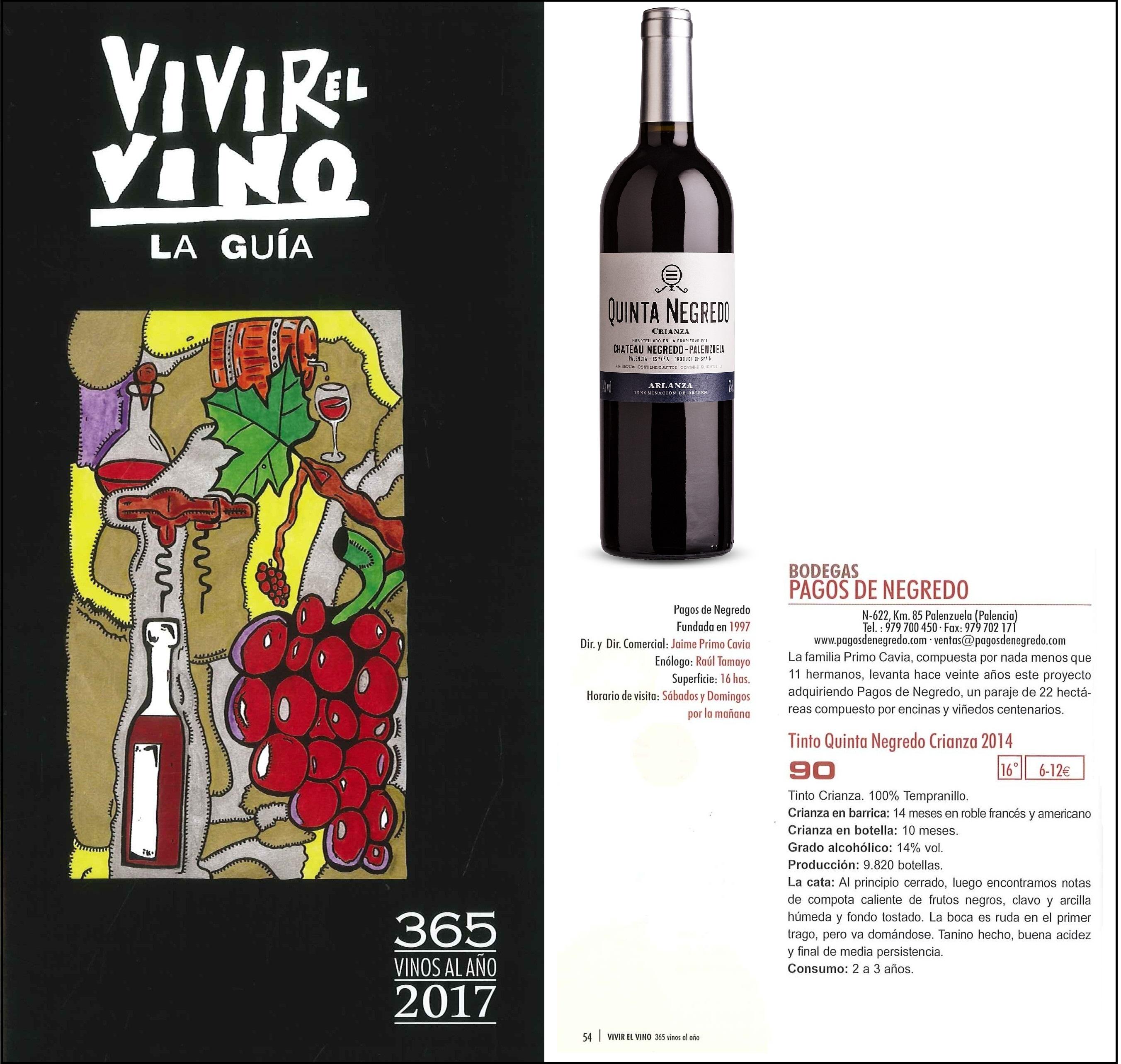 Guía Vivir el Vino